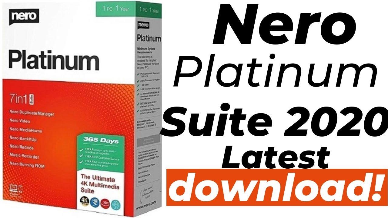 Nero Platinum 2020 Crack + License key Free Download { Latest }